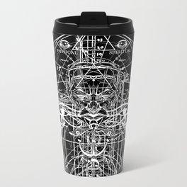 Eye of Horus Eye of Ra Metal Travel Mug