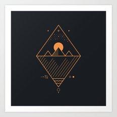 Osiris Art Print
