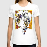 bob dylan T-shirts featuring bob dylan by Chris Shockley - shock schism