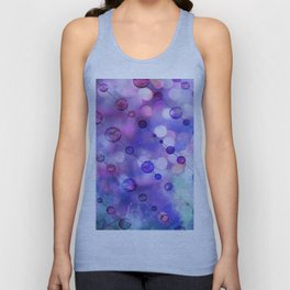 Color Beads and light Unisex Tank Top