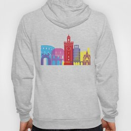 Brescia skyline pop Hoody