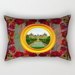 LIKE TO KEEP MY MEMORIES IN STYLE - RUSTIC BAROQUE - FRENCH CHATEAU Rectangular Pillow