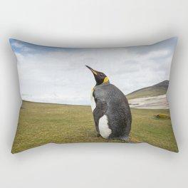 King Penguin Rectangular Pillow