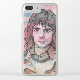 Rick Wright - Comfortably Numb Clear iPhone Case