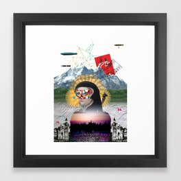 Broad Horizon Framed Art Print