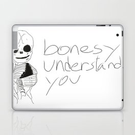 bonesy understands you  Laptop & iPad Skin