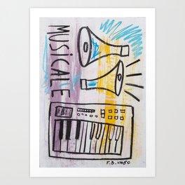Musicale Art Print