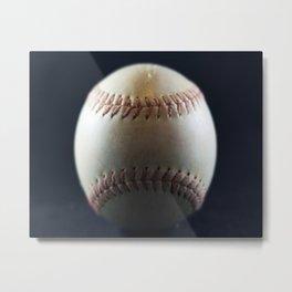 Softball Metal Print