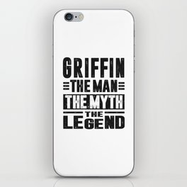 Griffin The Legend iPhone Skin