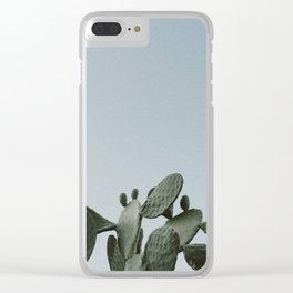 CACTUS / Joshua Tree, California Clear iPhone Case