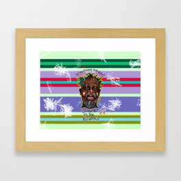 The Powder Trap Framed Art Print