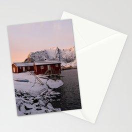 Winter in Lofoten Stationery Cards