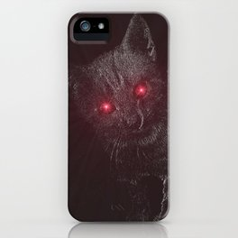 Bad Kitty! iPhone Case
