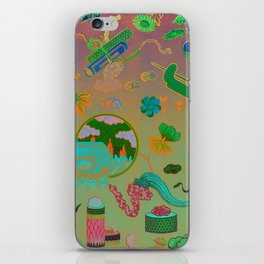 Chinese Ombre Pattern iPhone Skin