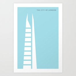 Iconic London: The Shard Art Print