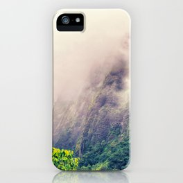 Dramatic Iao Valley iPhone Case
