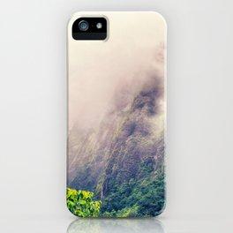 Dramatic Iao Valley, Hawaii iPhone Case
