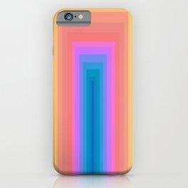 Geometric design, The Portal iPhone Case