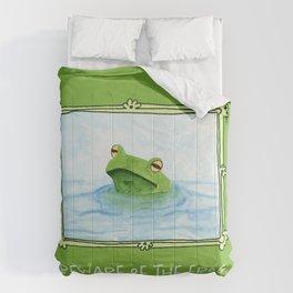 Beware of the frog Comforters