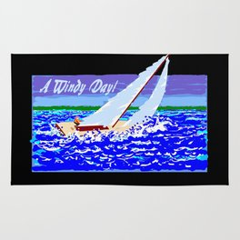 A Windy Day Rug