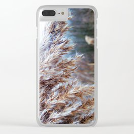 Waving in the Wind Clear iPhone Case