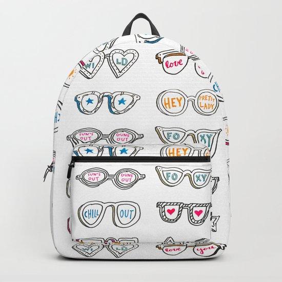 Sunny Day Glasses Backpack