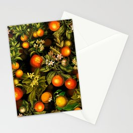 Vintage & Shabby Chic- Tropical Fruit Night Garden Stationery Cards