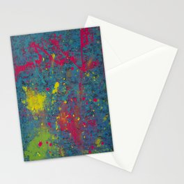 Fluorescent Dream Stationery Cards