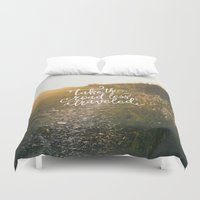 pocketfuel Duvet Covers featuring The Road by Pocket Fuel