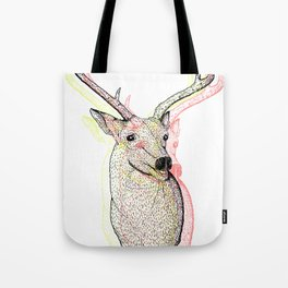 Deer Plague Tote Bag