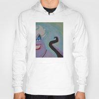 ursula Hoodies featuring Ursula by Sierra Christy Art