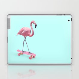SKATE FLAMINGO Laptop & iPad Skin