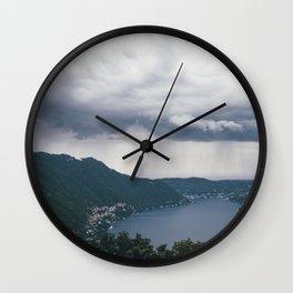 lake como, i Wall Clock