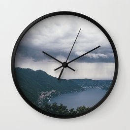 lake como, i Wall Clock