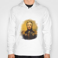 replaceface Hoodies featuring Alan Rickman - replaceface by replaceface