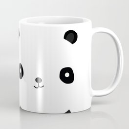Minimal Panda Coffee Mug