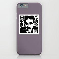 QR- Groucho iPhone 6s Slim Case