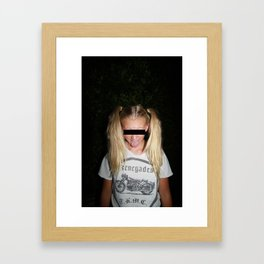 Toots Framed Art Print