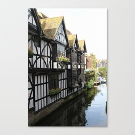 The Weavers Restaurant Canterbury Canvas Print