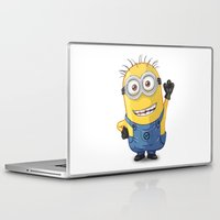 phil jones Laptop & iPad Skins featuring Minion - Phil by Konstantin Veter