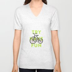 Try have fun Unisex V-Neck