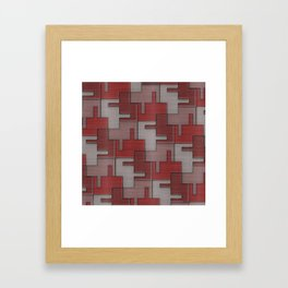 Geometrix 117 Framed Art Print