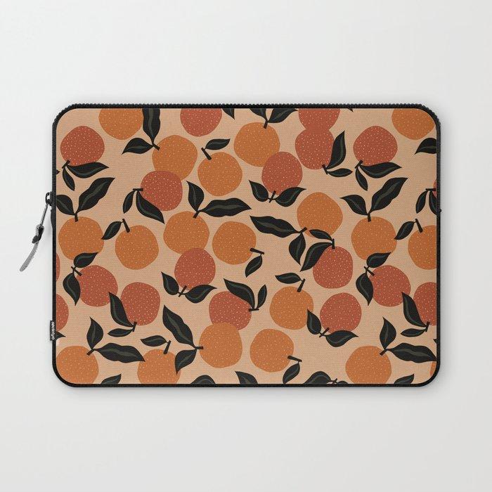 Seamless Citrus Pattern / Oranges Laptop Sleeve