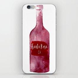 Santa Rosa, CA - Wine Country Love iPhone Skin