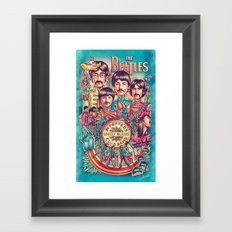 All We Need Framed Art Print