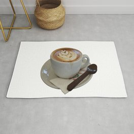 Americano Coffee Vector Rug