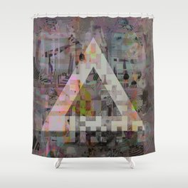 FADING IDENTIFICATION Shower Curtain