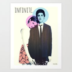INFINITE (Sam & Charlie from The Perks Of Being A Wallflower) Art Print