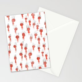 Oompa Loompa Pattern Stationery Cards