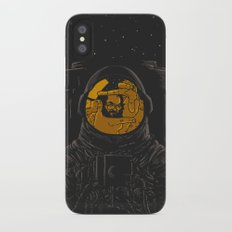 Dark side of the moon iPhone X Slim Case